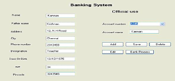 Design and implementation of Banking System in DBMS