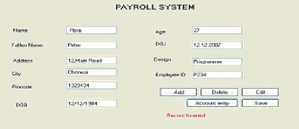 Design And Implementation Of Payroll Processing System In